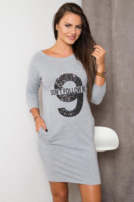 4b22add201b6 dámske športové šaty 61990 sivá