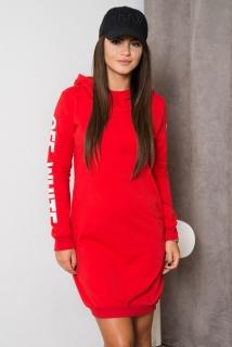1621deab12b1 dámske športové šaty 62072 červená empty